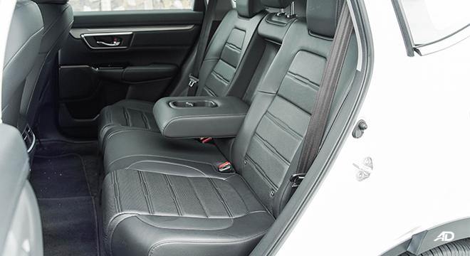 2021 Honda CR-V 2.0 S CVT test drive rear seats