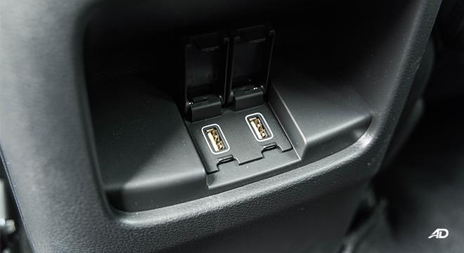 2021 Honda CR-V 2.0 S CVT test drive rear USB
