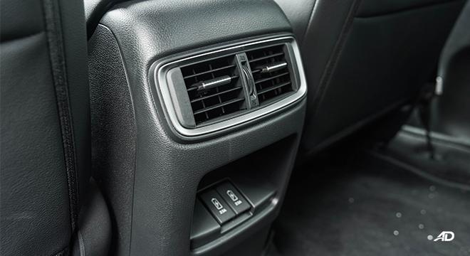 2021 Honda CR-V 2.0 S CVT test drive rear vents