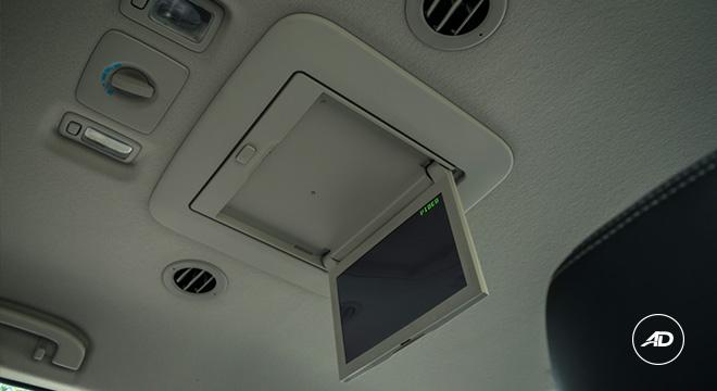 2021 Isuzu mu-X interior rear monitor Philippines