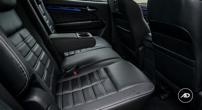2021 Isuzu mu-X interior rear seats Philippines