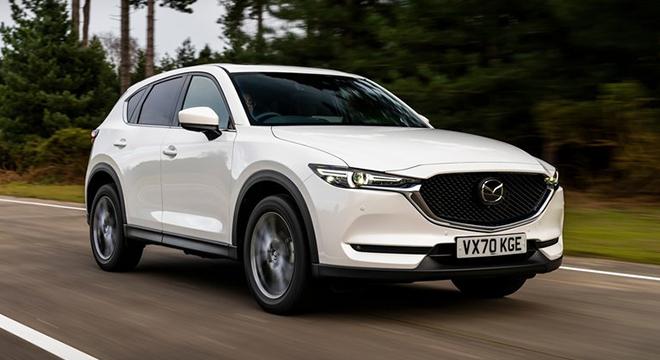 2021 Mazda CX-5 exterior quarter front Philippines