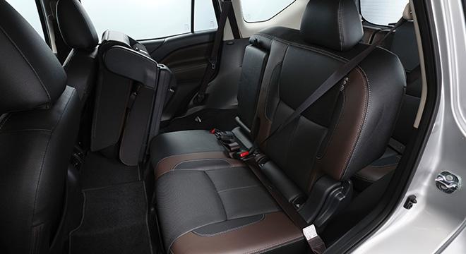 2021 Nissan Terra VL Philippines Interior rear seats