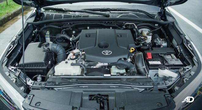 2021 Toyota Fortuner G DSL Philippines 2.4-liter diesel engine