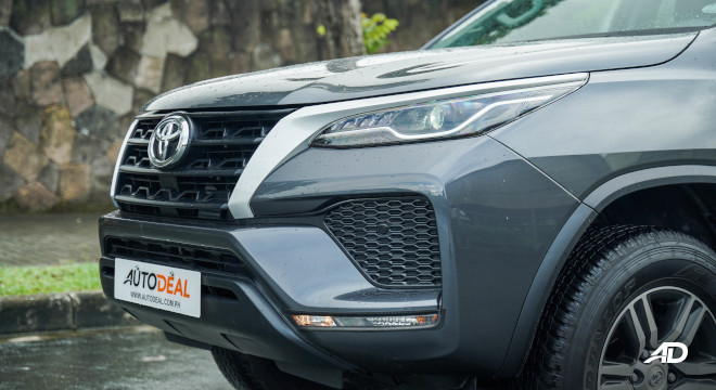2021 Toyota Fortuner G DSL Philippines Exterior Front Clip