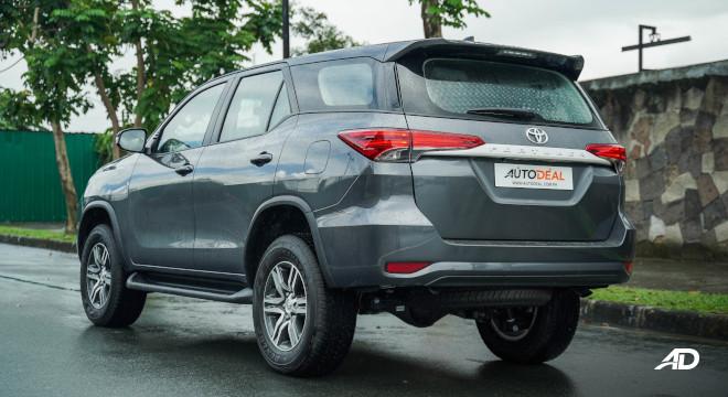 2021 Toyota Fortuner G DSL Philippines exterior rear quarter