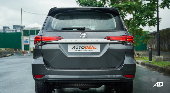 2021 Toyota Fortuner G DSL Philippines Exterior Rear Tailgate
