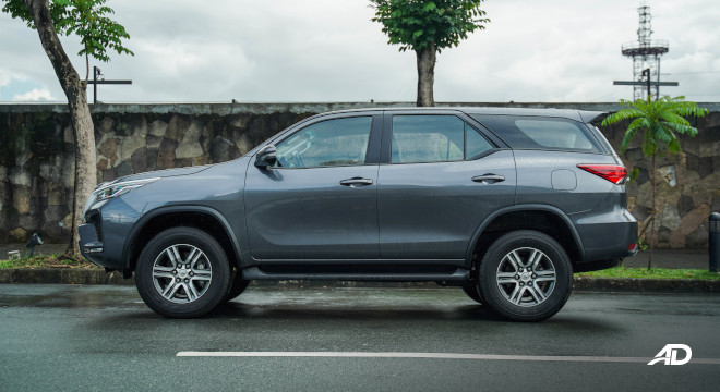 2021 Toyota Fortuner G DSL Philippines Exterior Side profile