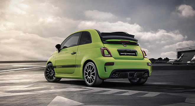 Abarth 595 Competizione 2019 green rear