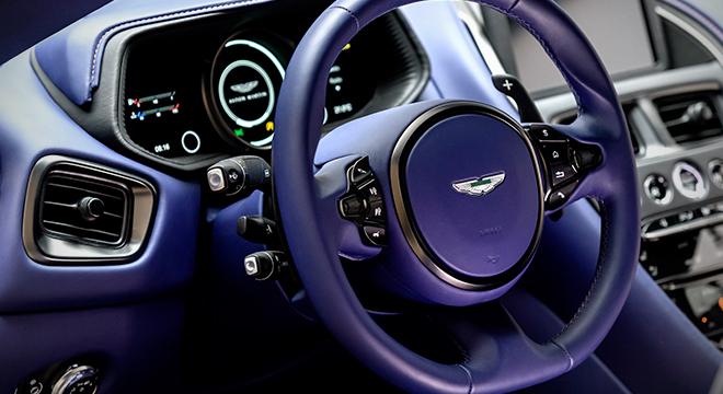Aston Martin DB11 V8 steering wheel