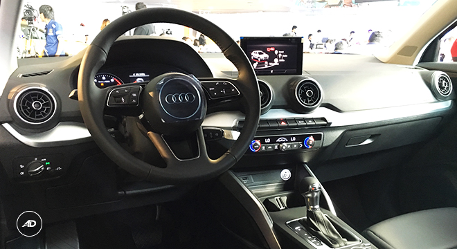 Audi Q2 Design 2018 Philippines interior