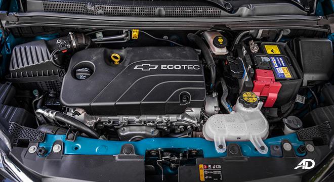 chevrolet spark road test engine