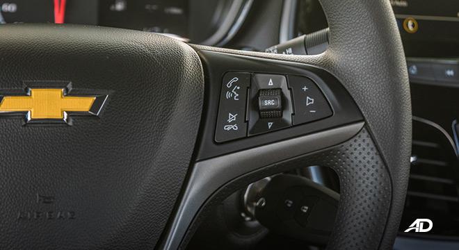 chevrolet spark road test interior audio controls