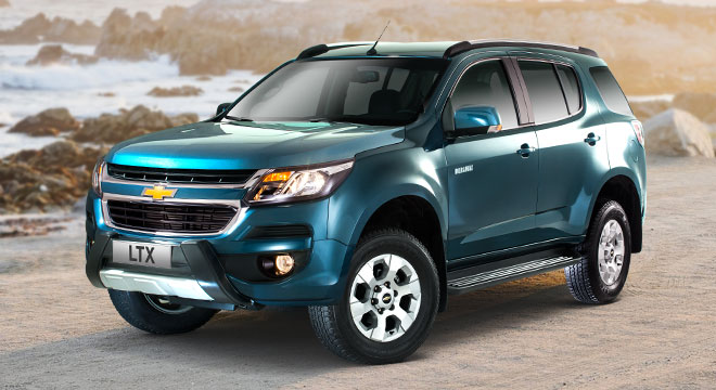 Chevrolet Trailblazer 2018  blue mountain