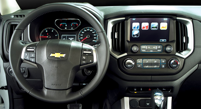 Chevrolet Trailblazer 2018 dashboard
