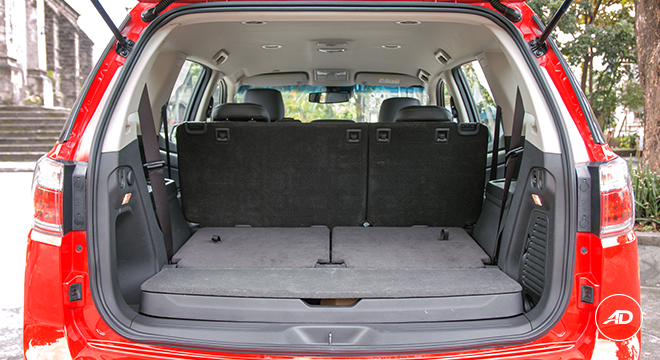 Chevrolet Trailblazer 2018 maximum space