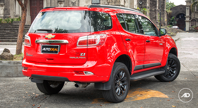 Chevrolet Trailblazer 2018 rear shot
