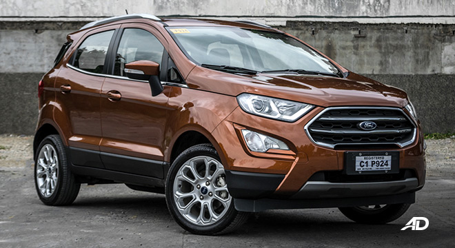 ford ecosport titanium road test exterior front philippines
