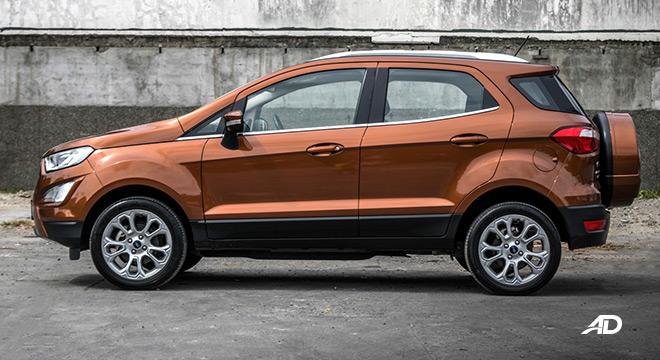 ford ecosport titanium road test exterior side