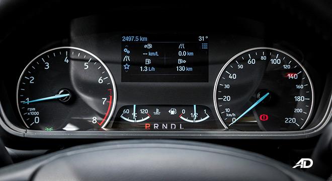 ford ecosport titanium road test interior instrument cluster