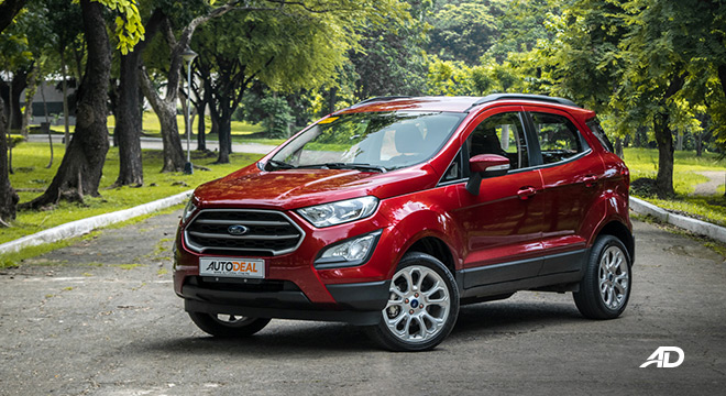 ford ecosport trend road test exterior beauty shot philippines