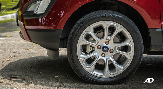 ford ecosport trend road test exterior wheels