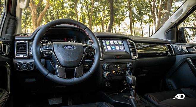 ford ranger fx4 front cabin interior philippines