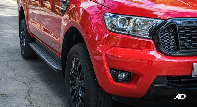 ford ranger fx4 headlights exterior