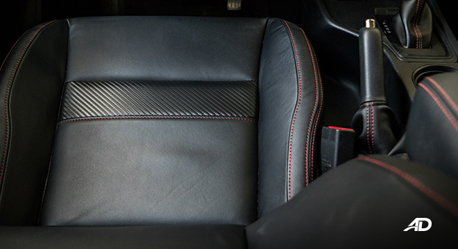 ford ranger fx4 leather seats interior