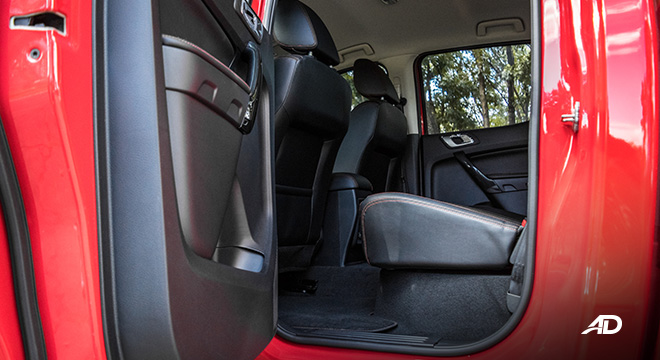 ford ranger fx4 rear cabin legroom interior philippines