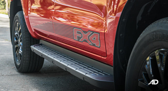ford ranger fx4 side decal exterior philippines