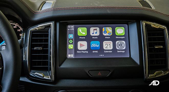 ford ranger fx4 touchscreen infotainment apple carplay interior philippines