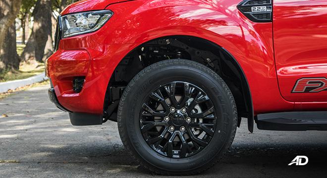 ford ranger fx4 wheels brakes exterior