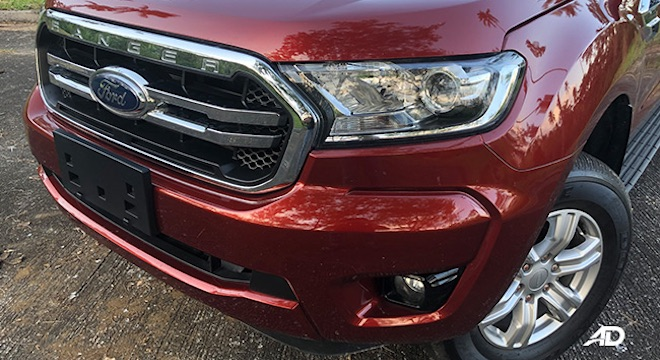 Ford Ranger XLS front grille 1