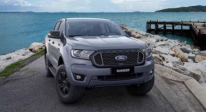 Ford Ranger XLT exterior philippines