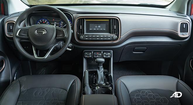 gac gs3 road test 1.5 dashboard interior philippines