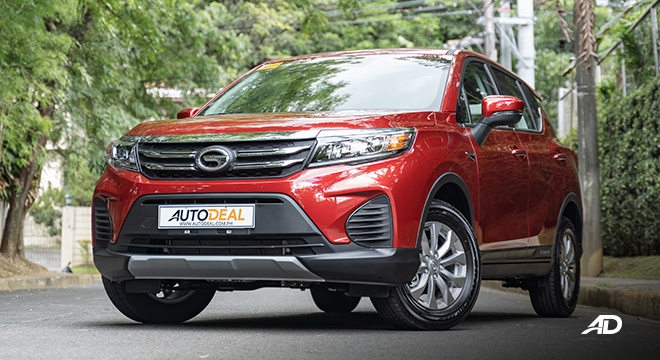 gac gs3 road test 1.5 front exterior philippines
