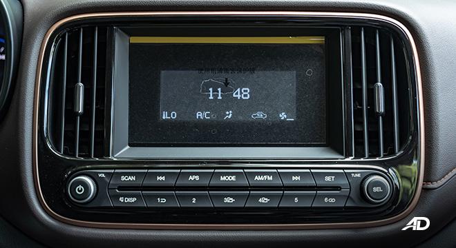 gac gs3 road test 1.5 infotainment interior