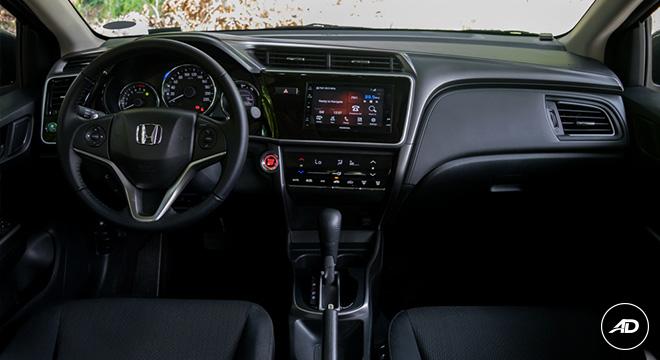 Honda City 1.5 VX NAVI CVT 2018 cockpit