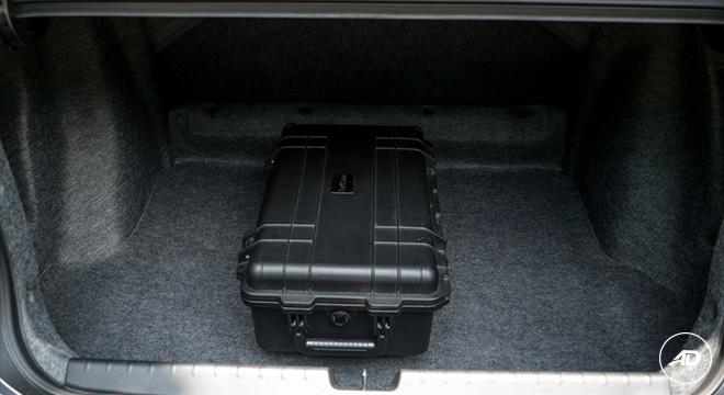 Honda City 1.5 VX NAVI CVT 2018 trunk