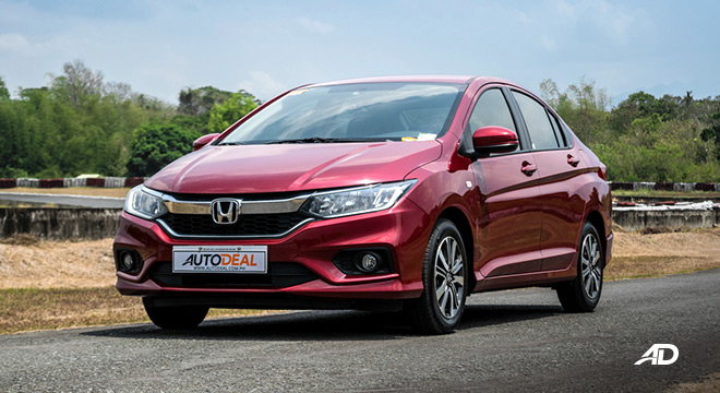 honda city road test front exterior philippines