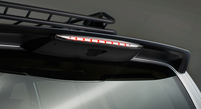 Isuzu Crosswind Sportivo X Urban Edition AT 2018 brake lamp