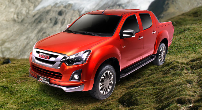Isuzu D-Max 3.0 VGS X-Series 4x2 AT 2018 pickup