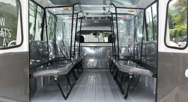 Kia Karga Plus Protect  rear interior