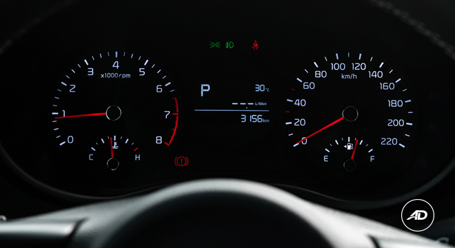 Kia Picanto 1.2 GT-Line AT 2018 instrument cluster
