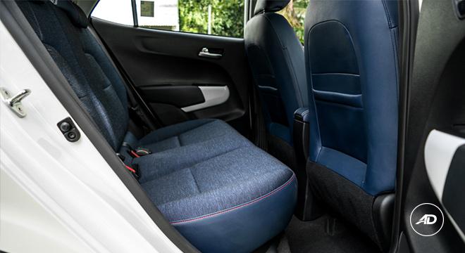 Kia Picanto 1.2 GT-Line AT 2018 rear seat