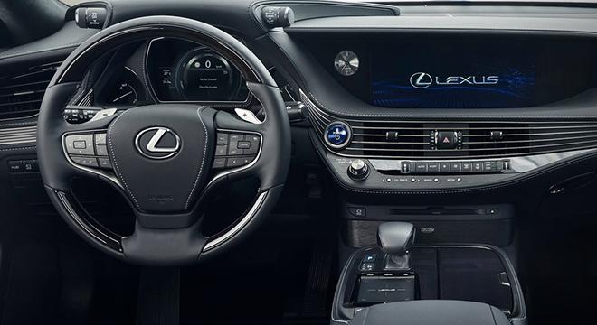 Lexus LS 500h 2018 steering