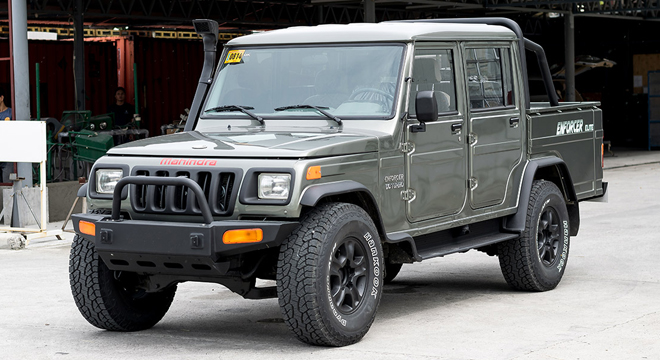 Mahindra Enforcer Double Cab 4x2 Floodbuster 2018 exterior