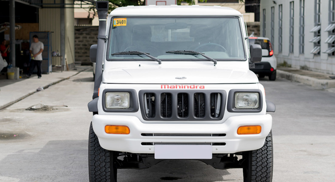 Mahindra Enforcer Double Cab 4x4 Floodbuster 2018 front