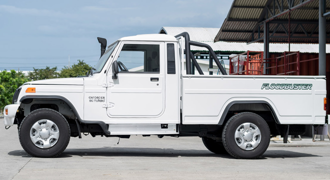 Mahindra Enforcer Single Cab 4x4 Floodbuster 2018 side